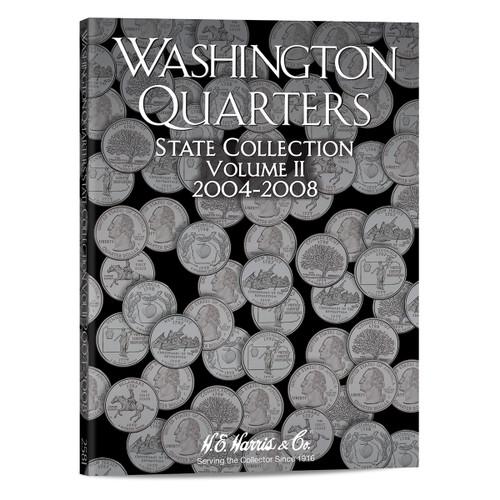 State Series Quarters Folders Vol II 2004-2008