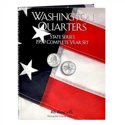 State Series Quarters Folders Comp Year 1999