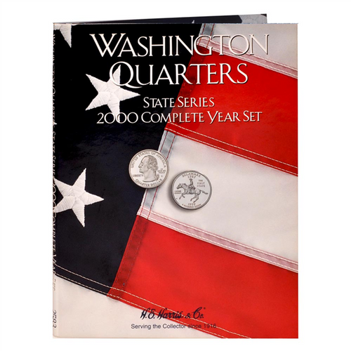 State Series Quarters Folders Comp Year 2000