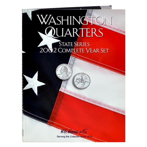 State Series Quarters Folders Comp Year 2002