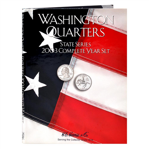 State Series Quarters Folders Comp Year 2003