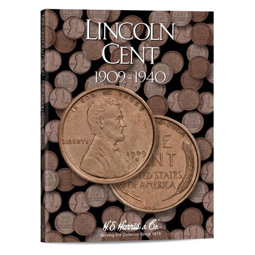 Lincoln Cents #1 Folder 1909-1940