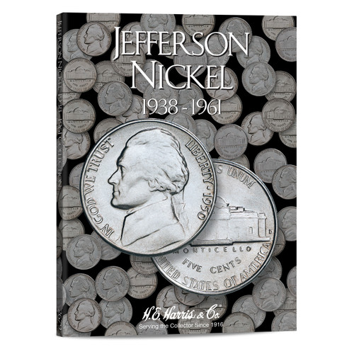 Jefferson Nickel #1 Folder 1938-1961