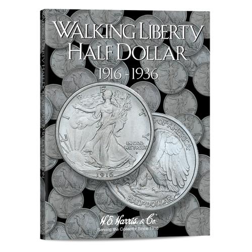 Liberty Walking Half Dollars #1 Folder 1916-1936