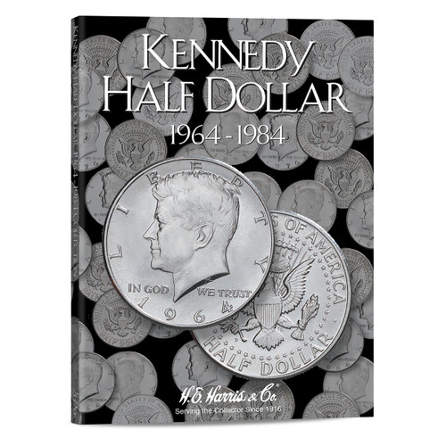 Kennedy Half Dollar #1 Folder 1964-1984