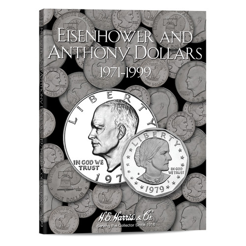 Eisenhower-Anthony Dollar Folder 1971-1999