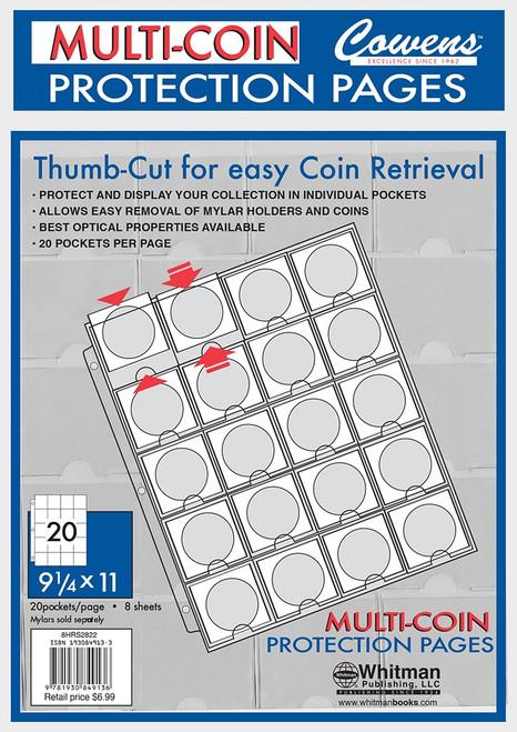 8 CT Bag Thumb-Cut Sheets