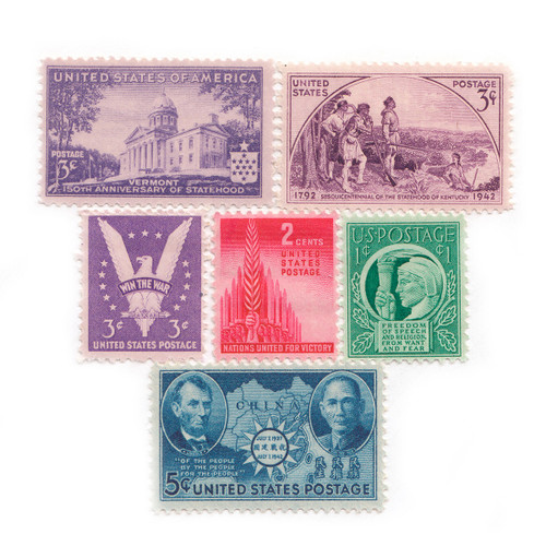 1941-1943 Commemorative Mint Year Set