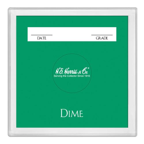 2X2 Color Coded Holder Dime-25 Per Box
