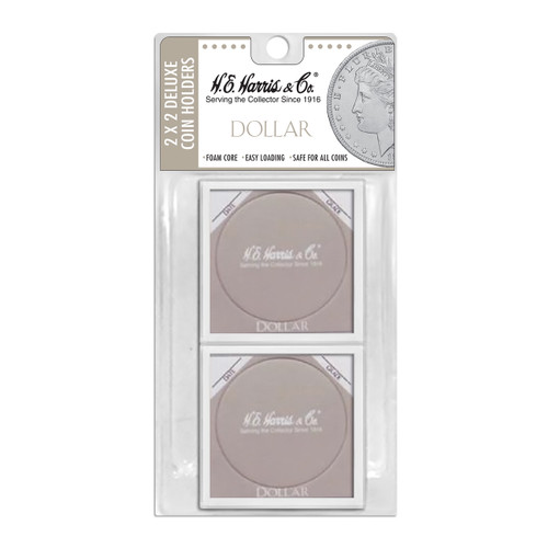 2X2 Color Coded Holder Dollar-6 Per Blister Pack