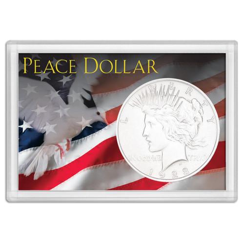 Frosty Case 2X3  Peace Dollar