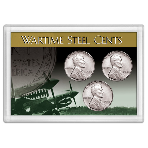 Frosty Case 2X3  1943 Steel Cent