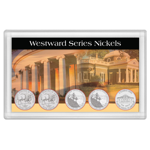 Westward Journey Nickels Lewis and Clark 3x5 Holder