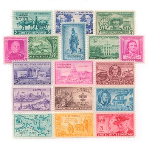 1949-1950 Commemorative Mint Year Set