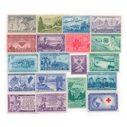 1951-1952 Commemorative Mint Year Set