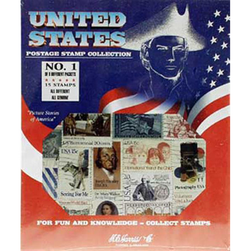 US Stamp Packet - Assortment (15 ct)