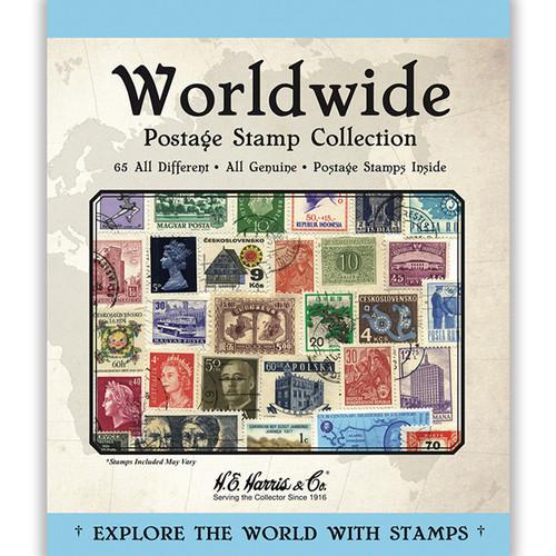 Worldwide Assortment Stamp Packet