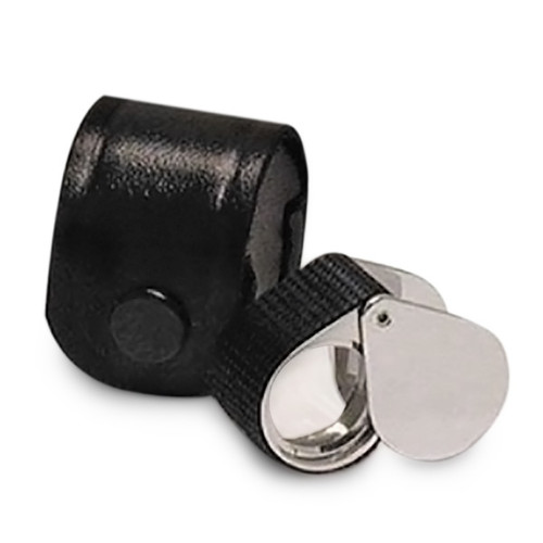 1029Rc Rubber Grip 10X Triplet Magnifier