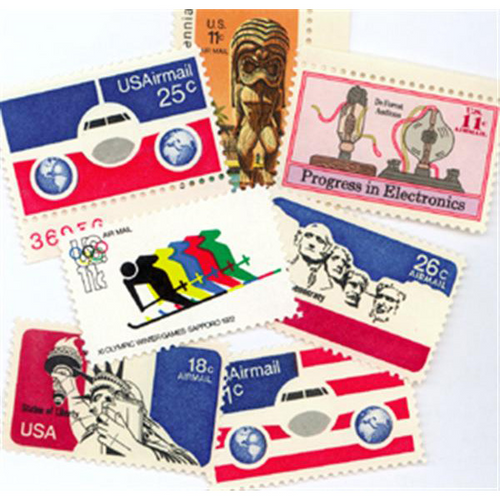 1972-76 Air Post Mint Year Set