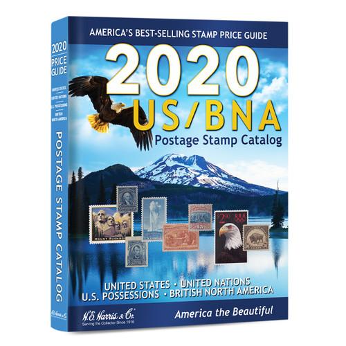 US/BNA Stamp Postage Catalog 2020
