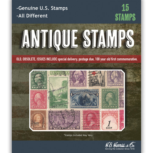 Antique Stamp Packet
