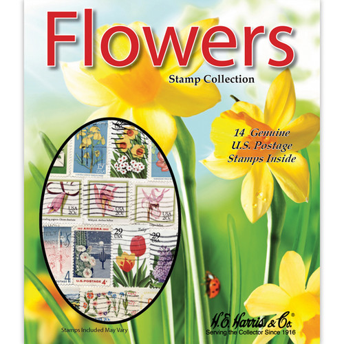 Flowers US Stamp Collection Packet (14 ct)
