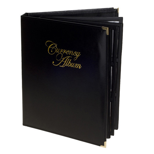 Premium Currency Album - Large Notes - Clear View Pages