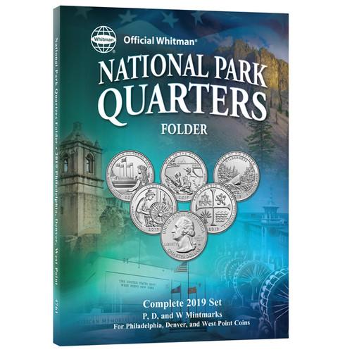 National Park Quarters Folder, 2019 with W Mint Mark