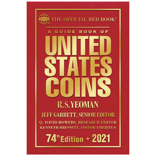 A Guide Book of United States Coins Hardcover 2021