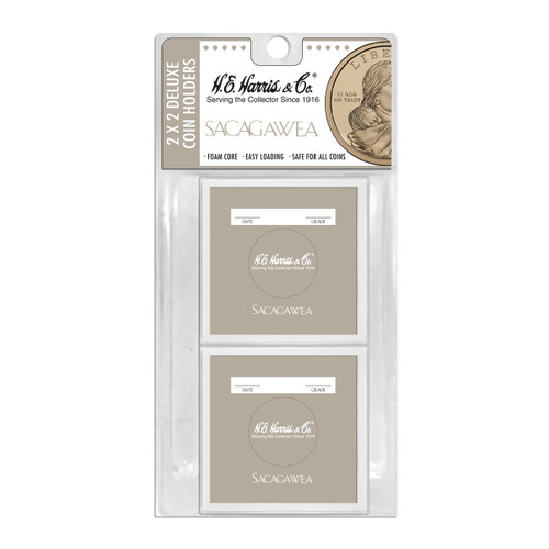 2x2 Color-Coded Sacagawea Holder, Blister Pack