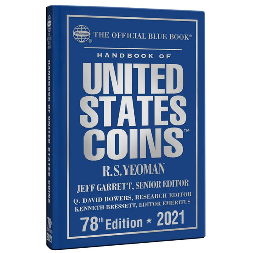 The Official Blue Book of United States Coin Hard Cover 2021