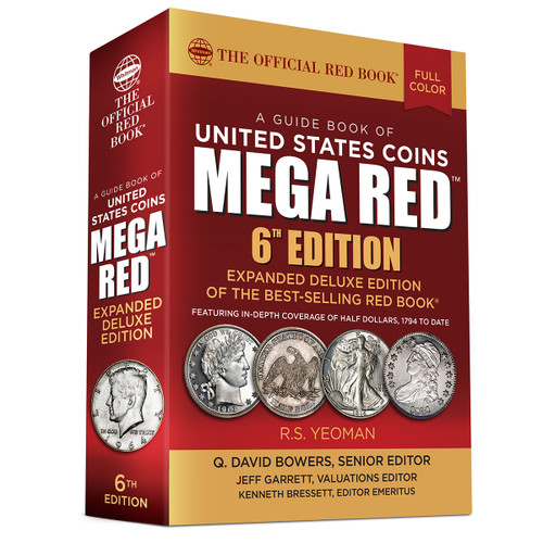 A Guide Book of United States Coins MEGA RED, 6th Edition