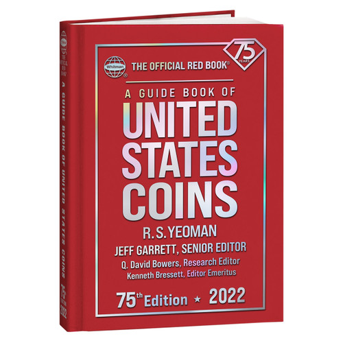 A Guide Book of United States Coins Hardcover 2022