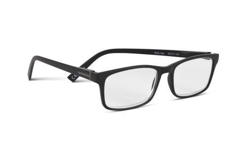 Dayfarer Black +2.0 Strength Reading Glasses