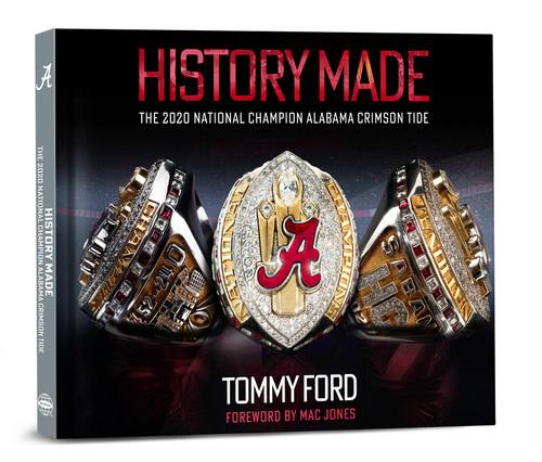 History Made:  The 2020 National Champion Alabama Crimson Tide