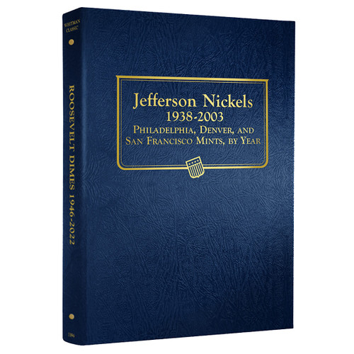 Jefferson Nickels 1938-2003