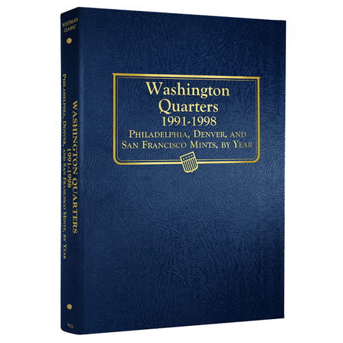 Washington Quarters 1991-1998