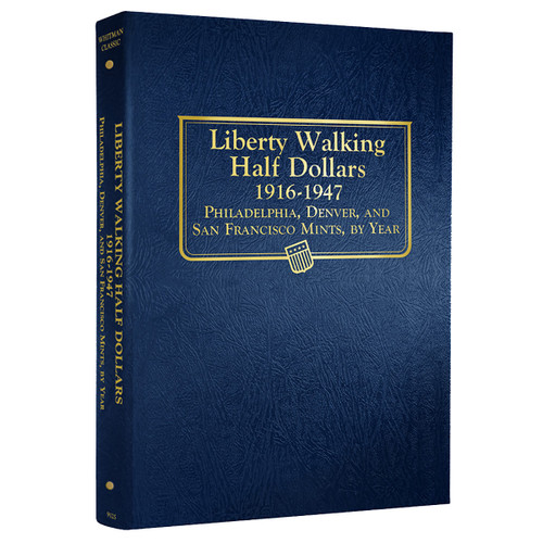 Liberty Walking Halves 1916-1947