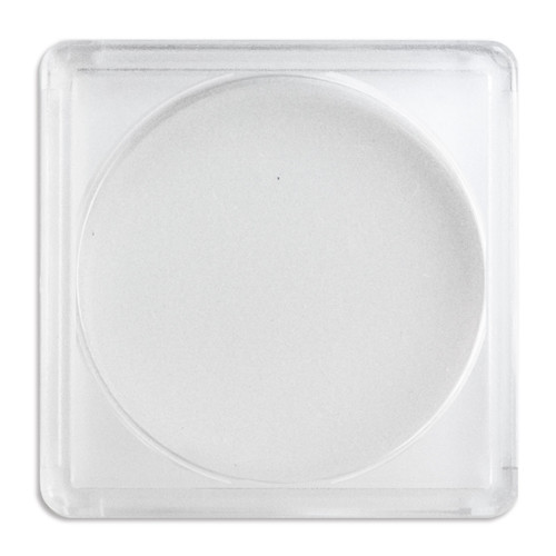 Silver Rounds (2X2 Plastic Holder)