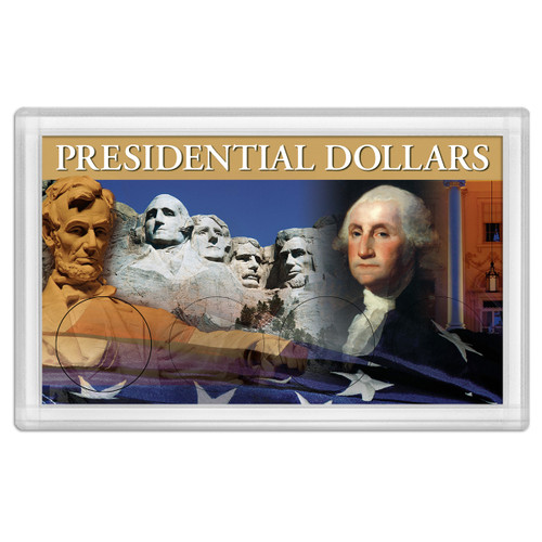 Presidential Dollars Frosty Case 3X5