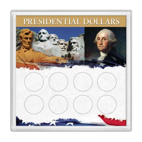 Presidential Dollars Frosty Case 6.5 X 6.5