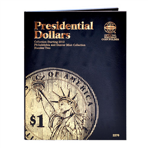 Presidential Dollar Folder #2, 2012-2016 - P&D Mint