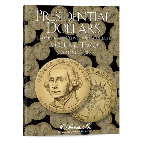 Presidential Dollar Folder Vol. II - P&D Mint - Harris Brand