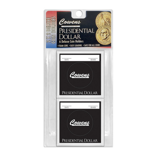 2X2 Color Coded Holder - Presidential Dollar - 6 pcs.