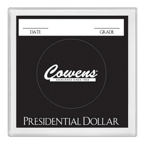 2x2 Color Coded Holder - Presidential Dollars - 25 per Box