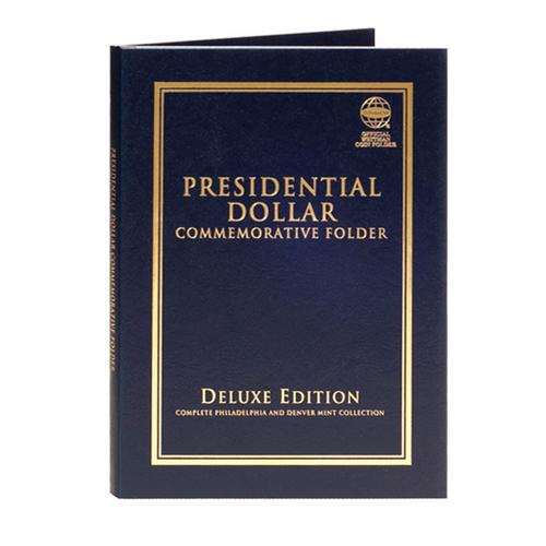 Presidential Dollar Commemorative Folder - Deluxe Edition
