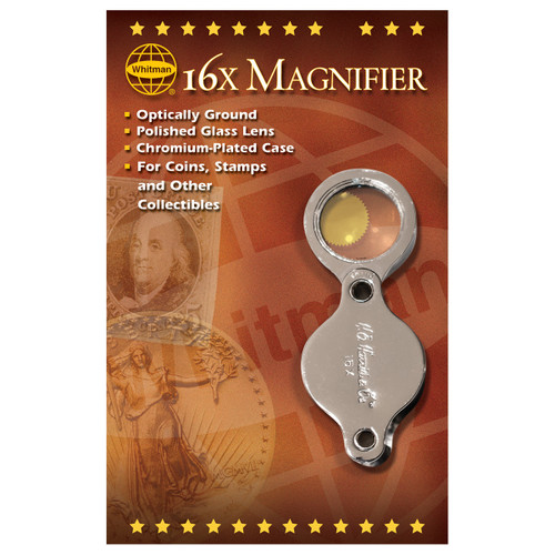 Whitman 16X Pocket Magnifier