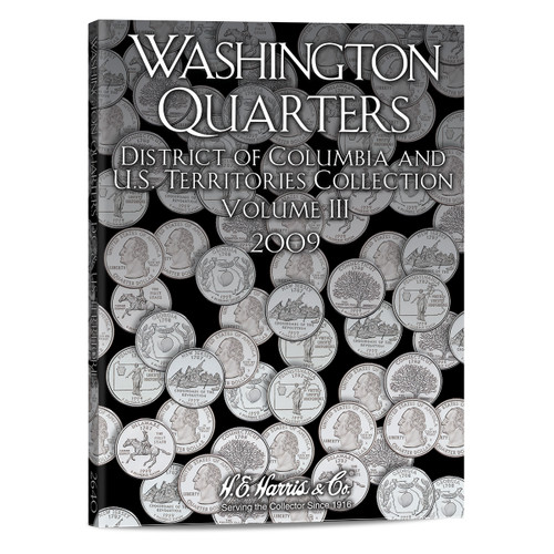 State Series Quarters Folders Vol III 2009 - Territories & District of Columbia