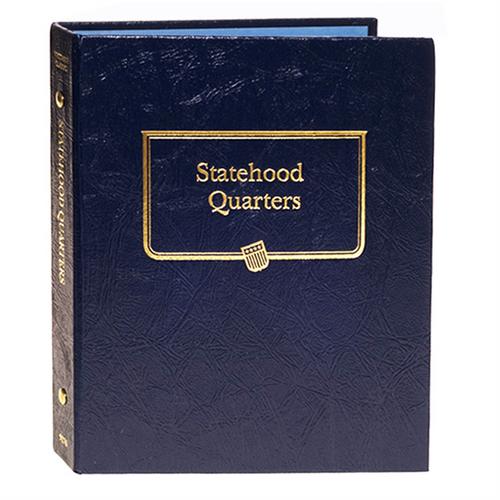 Statehood Quarters Album with Trust Territories & District of Columbia