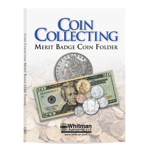 Boy Scout Merit Badge Coin Folder
